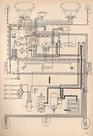 thesamba com type 1 wiring diagrams 1971 VW Super Beetle Fuse Diagram at 1973 Vw Bug Instrument Panel Wiring Diagram
