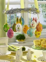 easter eggs chandelier