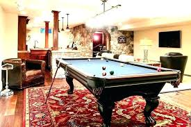 rug under pool table basement pool table rugs rug billiards traditional with red patterned what size