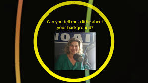 Can you tell me a little about your background? by Felicia Hudson