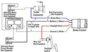 trailer light adapter diagram wirdig oem supplied brake controller wiring harness color guide