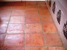 Terracotta Floor Tile Kitchen Cleaning Kitchen Terracotta Tiles Before Starting Work The Tile