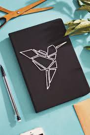 Diy Book Cover Design Diy Origami Diy Origami Embroidered Book Cover Diy