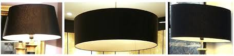 extra large drum shade chandelier black lamp shades imperial lighting regarding new residence large drum lamp