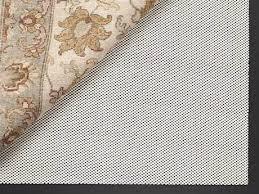 surya support grip 3 round rug pad