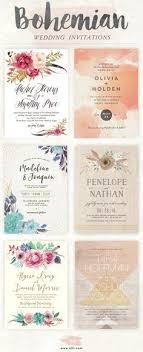 best 20 bohemian wedding invitations ideas on pinterest wedding Vintage Boho Wedding Invitations top bohemian wedding invitations featuring flowers and feathers click here to see more stunning boho vintage bohemian wedding invitations