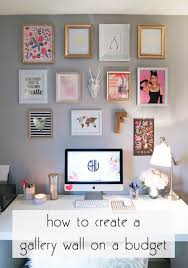 Franish: creating a gallery wall on a budget. Diy DecoratingApartment ...