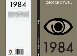 1984 book cover by nusentinsaino