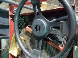 mazda rx7 1985 interior. 19791985 mazda rx7 4 spoke sport steering wheel horn assembly black leather rare rx7 1985 interior