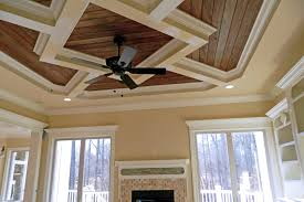 coffered ceiling trim