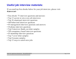 Interview questions and answers  free pdf download Page 21 of 30; 22.