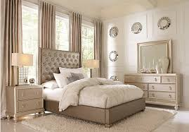 Sofia Vergara Paris Gray 5 Pc Queen Bedroom Sets Sofia Vergara  Bedroom Furniture A15