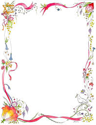 Decorative Borders For Word Decorative Backgrounds For Word Documents Birthday Page Borders