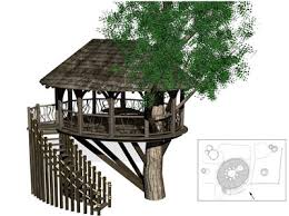tree house floor plans for adults. One Of The Magical Blue Forest Tree House Designs Floor Plans For Adults