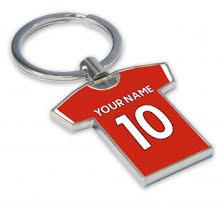 personalised liverpool key ring