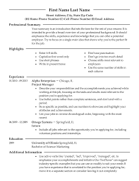 Resume Advice Simple Modern 60 Resume Templates To Impress Any Employer LiveCareer