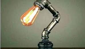 diy pipe lighting. Industrial Pipe Light Fixture Gas Black Steampunk  Lighting Wall Diy