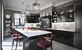 Kitchen White Granite Countertops Best Classic Kitchen Designs Contemporary Shaped Chandelier Modern