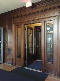 Arched Door Vestibule
