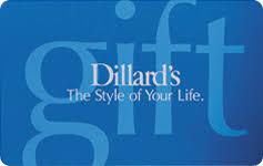 Buy Dillard's Gift Cards   GiftCardGranny