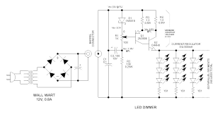 12v led dimmer circuit led dimmer control schematic