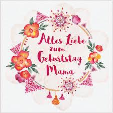 Diy Alles Liebe Zum Geburtstag Mama Geburtstagskarte Free