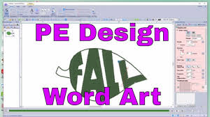 Youtube Pe Design 10 Pe Design 10 Embroidery Create Amazing Word Art In Shapes