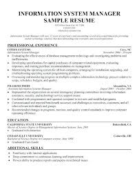 Computer Systems Manager Sample Resume Senior Systems Engineer Information Sample Resume shalomhouseus 2