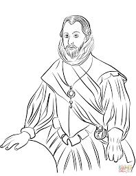 Francis Drake Kleurplaat Gratis Kleurplaten Printen