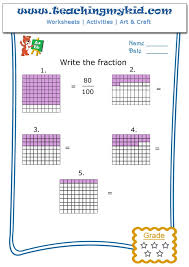 Write The Fraction Archives - Teaching My Kid