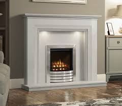 odella fireplace with marble fire surround