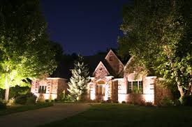 lighting a house. \u201cHeinzman Lights At Night Made Our House Visible Night! The Curb Appeal Is Remarkably Enhanced By Well-placed Lighting In Front. A .