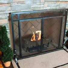 fireplace screens and doors. Image Of: Contemporary Fireplace Screens With Doors And R