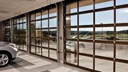 Full View Garage Door Commercial Modern All Glass Door