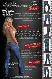 Rock N Roll Jeans Size Chart Cowgirl Tuff Jean Sizing Cowgirl Tuff Jeans Cowgirl Tuff