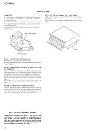 sony cdx m610 service manual of car audio system sony cdx m610