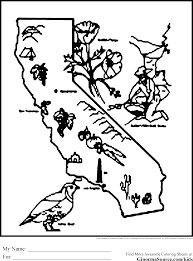 California Coloring Pages
