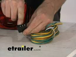 optronics standard trailer light kit review etrailer com