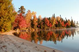 Small Picture Small Houseboat Rentals Big Fall Colors Rainy Lake Houseboats
