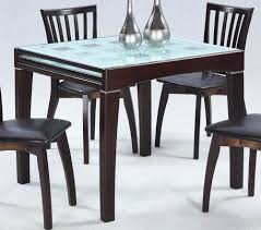 Attractive Expandable Dining Table Black
