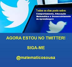 Valdivino Sousa: agora estou no twitter! siga-me @matematicosousa | JORNAL  FOLHA ONLINE