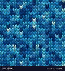 Light Blue And Dark Blue Light And Dark Blue Knit Seamless Pattern Eps 10