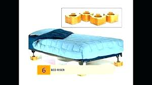 Bed Frame Riser Risers High Rise King Home Ikea Lowes