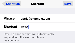 A Favorite Ios Tip Email Shortcuts Danfrakes Com