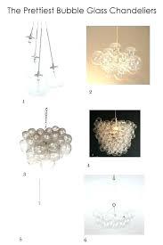 chandeliers bubble chandeliers for low ceilings uk