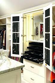 closet jewelry organizer jewellery