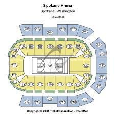 Spokane Arena Tickets And Spokane Arena Seating Charts