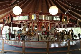 vintage merry go round at the heritage museums and gardens a fun cape cod attraction