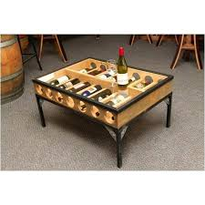 wine coffee table wine rack coffee table unique top diy vintage wine crate coffee table