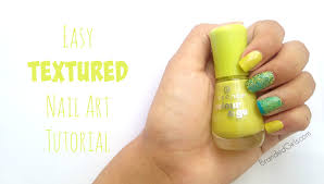 nail coloring tutorial new easy diy textured nail art design step by step tutorial